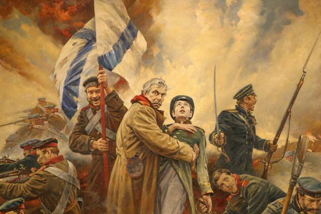 составьте рассказ очевидца обороны севастополя в форме письма с фронта