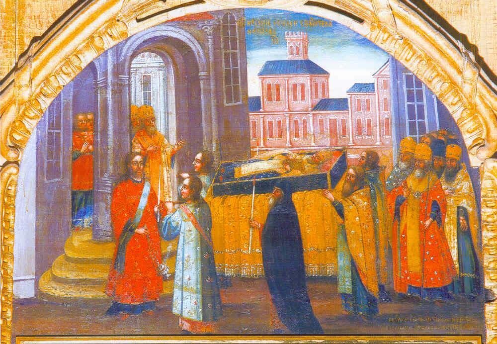 Картинки по запросу Перенесение мощей святителя Николая из Мир Ликийских в Бар-град