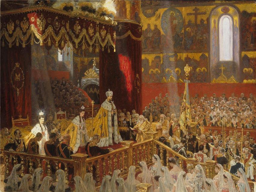 Венчание на Царство (Священное Коронование).