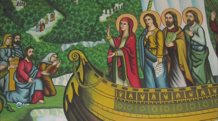 Гора афон республика монахов mont athos
