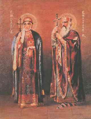 Святой равноапостольный великий князь Владимир.