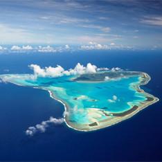 В южном полушарии — на островах кука