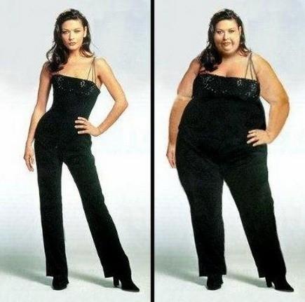 как похудеть без фитнеса