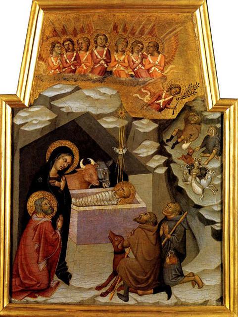 Бартоло ди фреди рождество христово