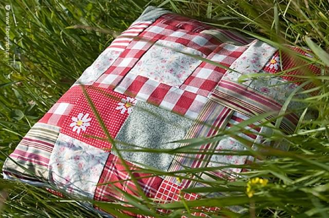 Подушка из сена