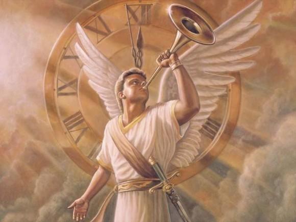 ангел-трубит