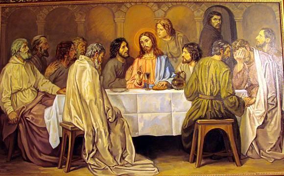 тайная вечеря картина: