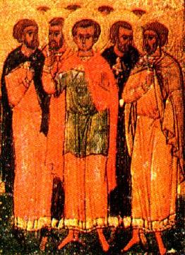 """Результат пошуку зображень за запитом """"св. мч. Агапія і з ним шести мучеників."""""""